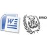 Free Template for printing IMDG Dangerous Goods Notes