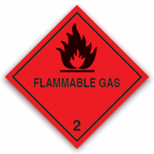 Class 2.1 - Flammable gases