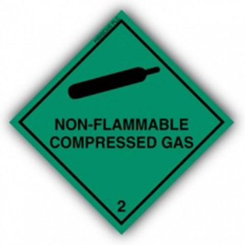 Class 2.2 - Non-flammable compressed gases