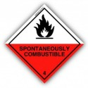 Class 4.2 - Substances liable to spontaneous combustion