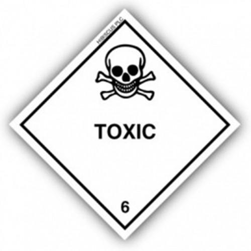 Class 6.1 - Toxic substances
