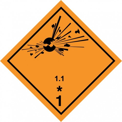 Class 1 - Explosive substances and articles