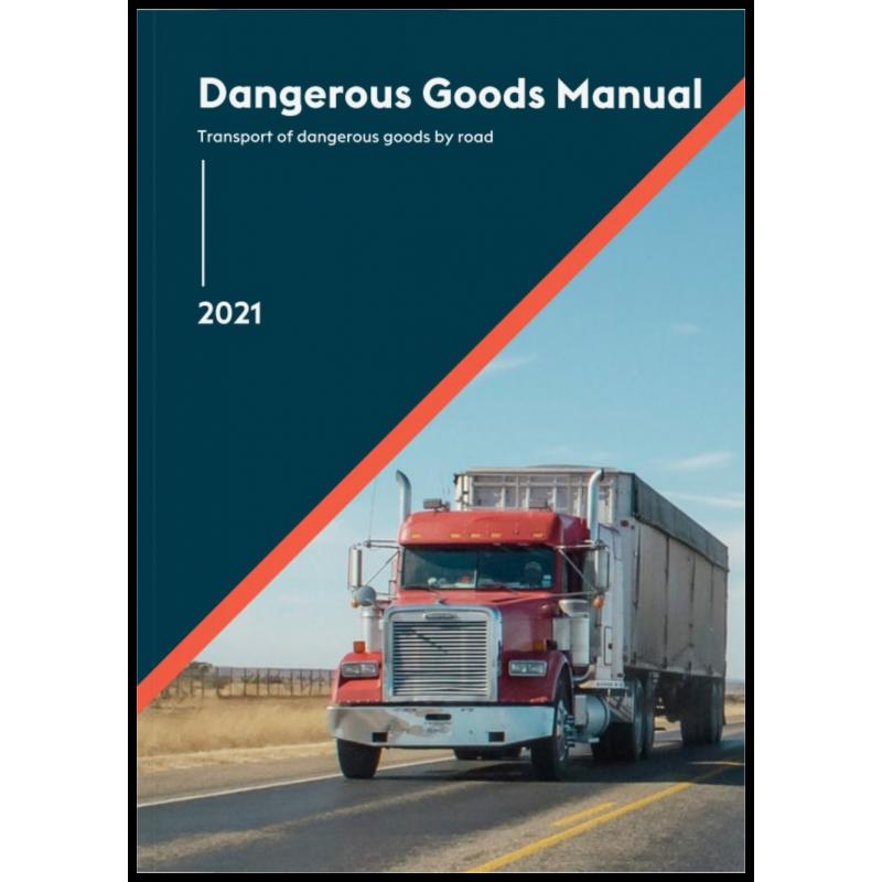 2021 - UNADR Dangerous Goods Regulations - 2 Book Set