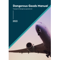 2022 IATA Dangerous Goods Manual - Spiral Bound - 63rd Edition