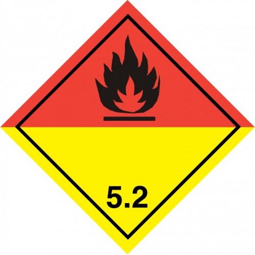 Class 5.2 - Organic peroxides