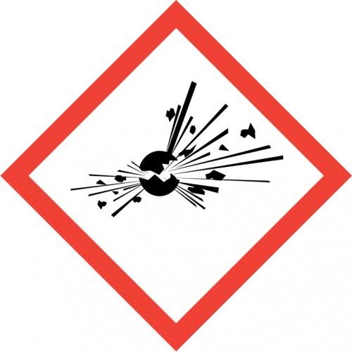 GHS Pictogram - Exploding Bomb