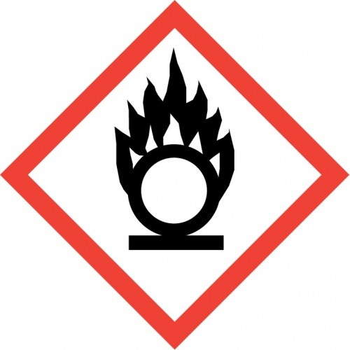 GHS Pictogram - Flame over circle