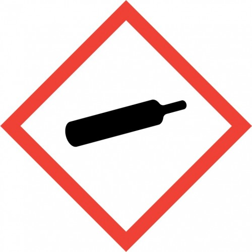 GHS Pictogram - Gas cylinder