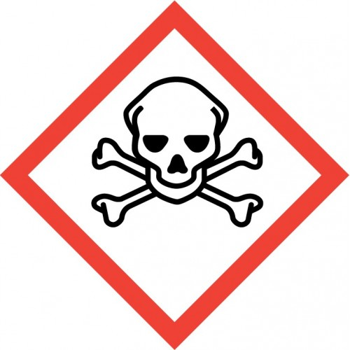 GHS Pictogram - Skull and crossbones